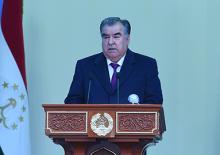 Президенти Ҷумҳурии Тоҷикистон Эмомалӣ Раҳмон